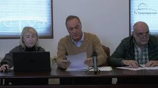 Pleno Concello Soutomaior mes de novembro