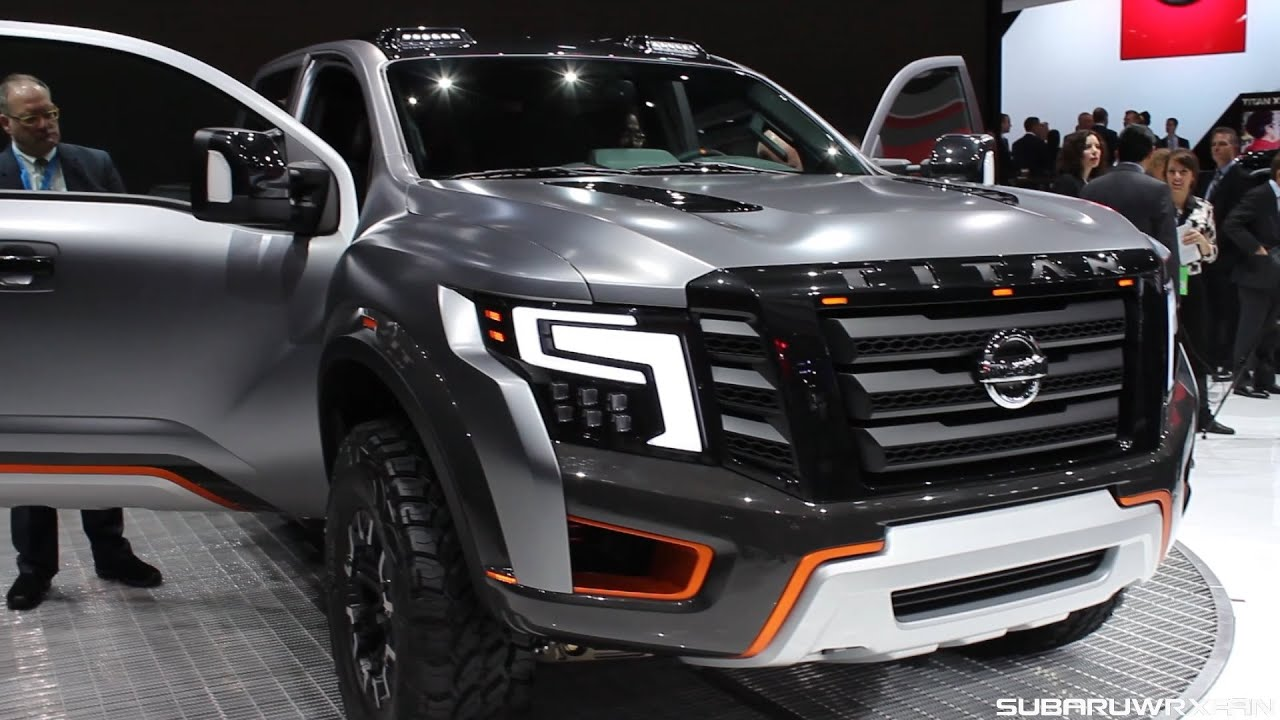 Nissan titan warrior concept design and discussion youtube vanachro Images