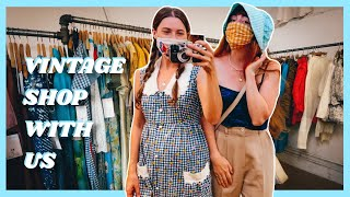 HUGE ANNOUNCEMENT! Thrift & Vintage Shop with Me & Christine from @DearSurvivor