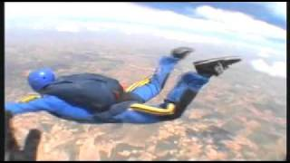AFF level 5 skydiving in madrid