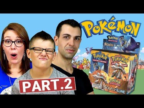 Ouverture Display Pokémon SOLEIL ET LUNE (2/2) MEGA CHANCE ! Family Geek