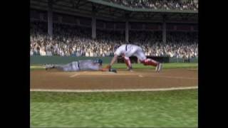 MVP Baseball 2005 Xbox Gameplay - Big Plays