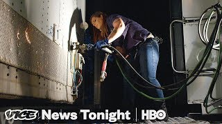 Meet The Truck-Driving Mom In A Business With Hardly Any Women | American Jobs (HBO)