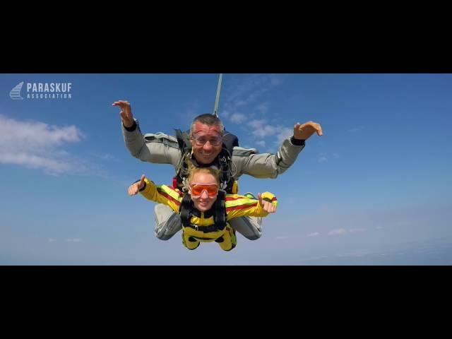 Прыжок с парашютом в Киеве на Аэродроме Бородянка