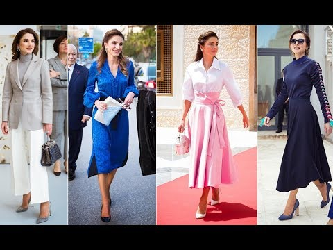 Queen Rania of Jordan's style evolution