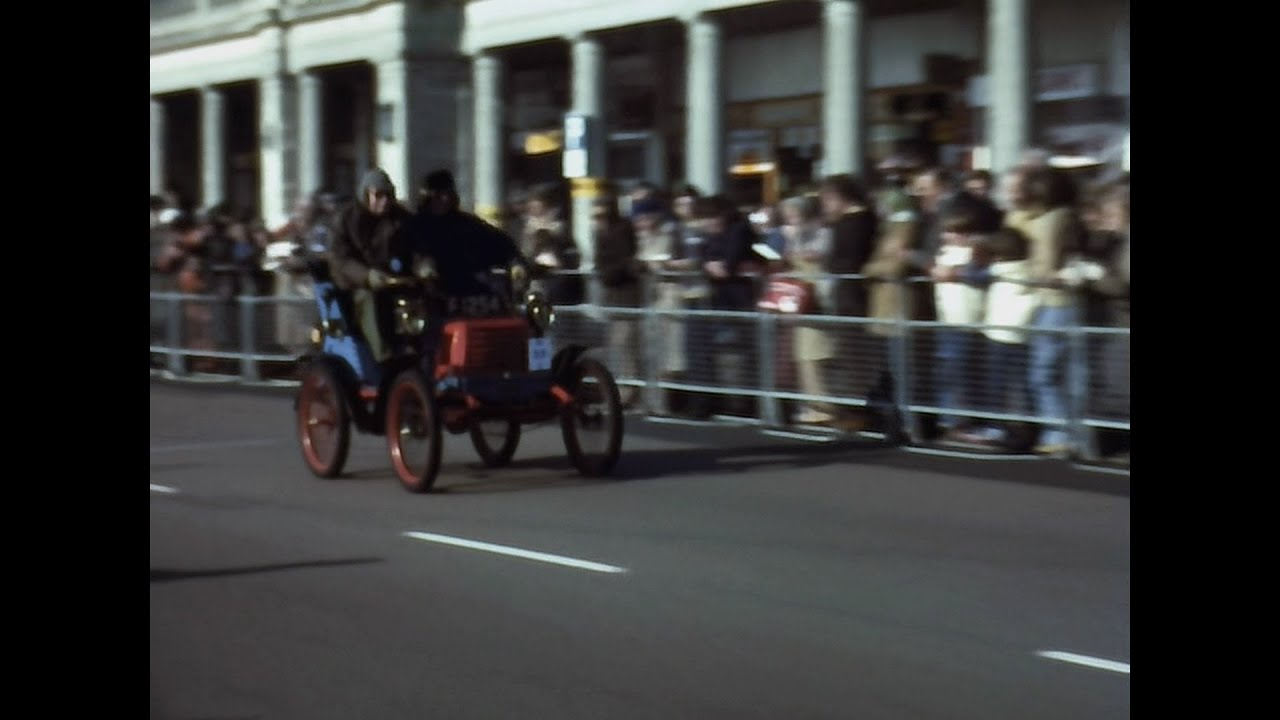 1980 Brighton Parade Vintage Cars – Archive Footage