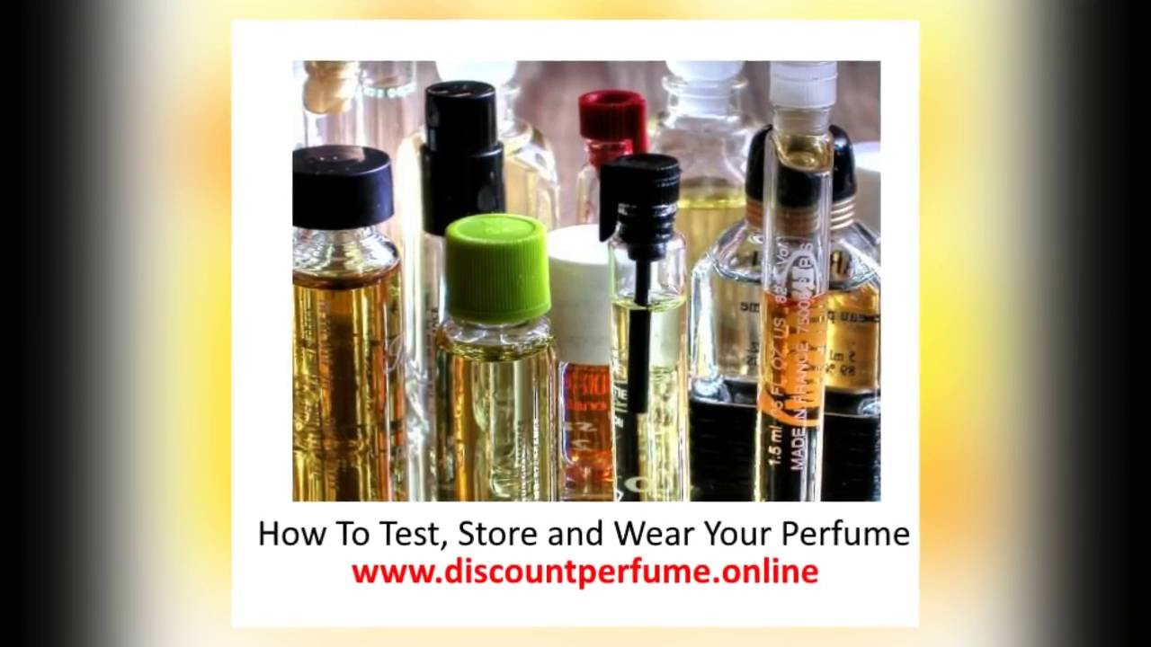 How to Test Perfumes recommendations