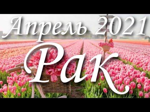 Прогноз на месяц Апрель 2021 года для представителей знака зодиака Рак