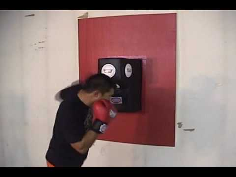 Combat Sports Wall Mounted Uppercut Bag Youtube