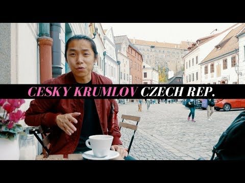 CESKY KRUMLOV! A DAY IN THE FAIRYTALE TOWN OF CZECH REPUBLIC!!! | TRAVEL VLOG