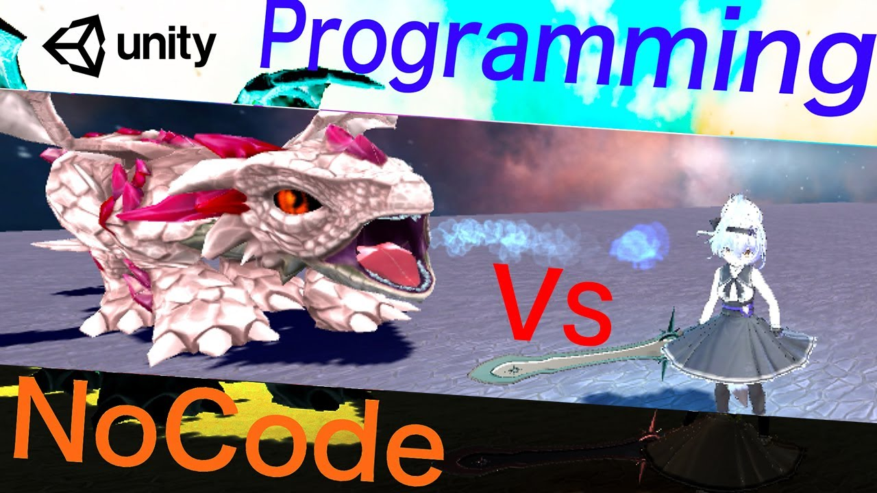 【unity】ノーコードvsプログラミング - ゲームAI開発で比較 -【ボイスロイド解説】