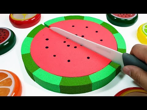 Johny Johny Yes Papa Song l Learn Colors With Watermelon Fruit Fun Toys for Kids