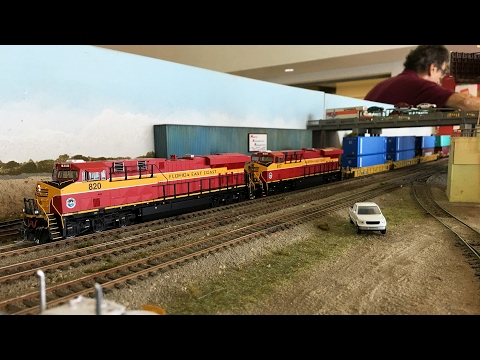 ECHOES - East Coast HO Exhibitors Society Model Train Display February 2017