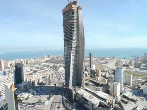 Al Hamra Tower Timelapse - Kuwait.