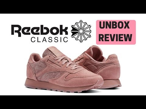 REVIEW Reebok Classic Leather!! (Pink)