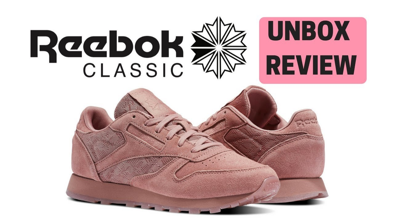 de17a0845f4 REVIEW Reebok Classic Leather!! (Pink) - YouTube