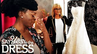 Oversized Dress During Her Fitting Makes Bride Burst Into Tears   Say Yes To The Dress UK