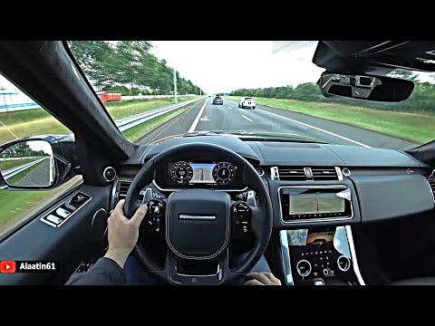 The New Range Rover Sport SVR 2021 Test Drive