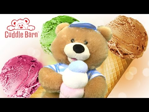Scoops Stuffed Bear from Cuddle Barn