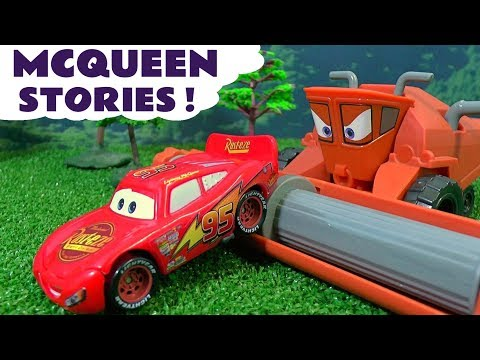 Thumbnail: Disney Cars Toys McQueen Toy Stories with Superhero Batman Joker and Hot Wheels Sets for kids TT4U