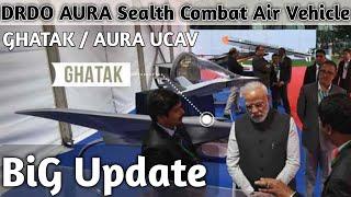 India's DRDO Stealth Bomber AURA/Ghatak UCAV Fight Flight Test | Indian Stealth Bomber | Latest news