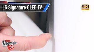 LG OLED W7 TV Unboxing: Man, ist der dünn man!