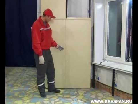 Монтаж вентилируемых фасадов Краспан часть 3 (Фиброцементные плиты)
