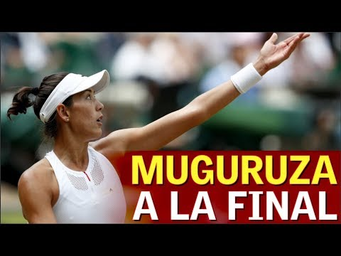 Garbiñe Muguruza a la final de Wimbledon | Diario AS