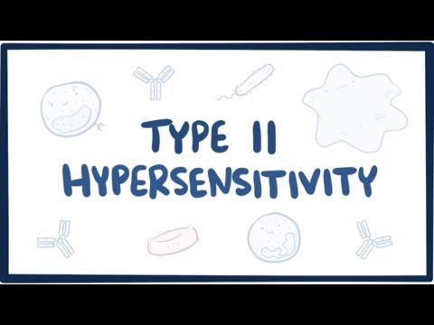 Type II Hypersensitivity (cytotoxic Hypersensitivity) - Causes, Symptoms,  & Pathology