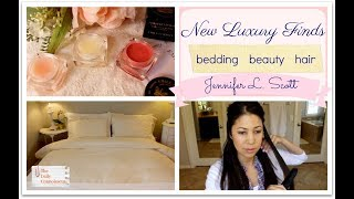 New Luxury Finds | Bedding & Beauty | Jennifer L. Scott