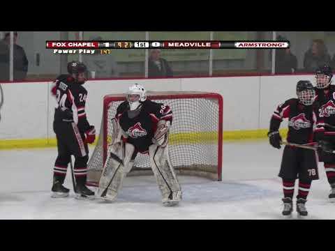 HS Hockey: Fox Chapel vs Meadville (Dec 11, 2017)