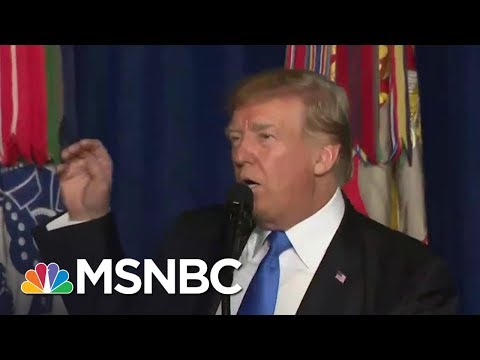 President Donald Trump Delivers 'Somber Speech' On Afghanistan | Morning Joe | MSNBC