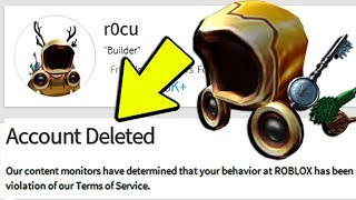 GOLDEN DOMINUS WINNER PERMANENTLY BANNED VON ROBLOX!