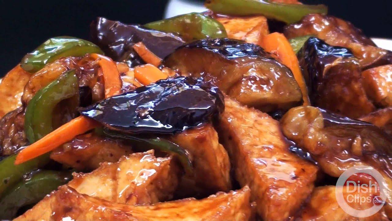 Choys chinese restaurant eggplant tofu with garlic sauce youtube forumfinder Gallery
