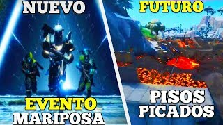 *CONFIRMADO* VOLCÁN DESTRUIRÁ EL MAPA Y REGRESARA EL EVENTO MARIPOSA (NEXUS) Fortnite Battle Royal