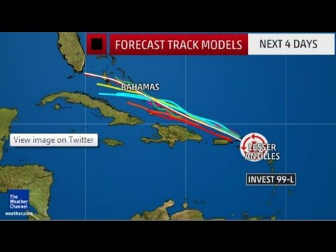 Hurricane - National Hurricane Center - Invest 99l - Hurricane Season 2016 - DailyNews99