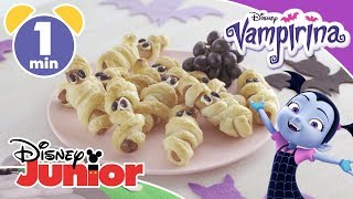 Vampirina | Easy Halloween Recipe: Spooky Sausage Rolls 😋 | Disney Junior UK