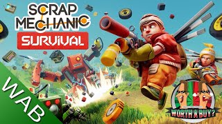Scrap Mechanic Survival Review - A coop survival game (Video Game Video Review)