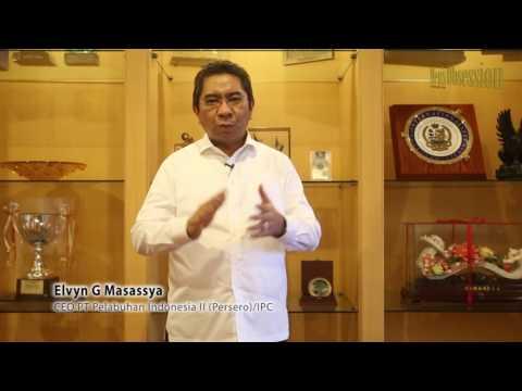 Campaign Elvyn G Masassya - CEO PT Pelabuhan Indonesia II (persero)/IPC