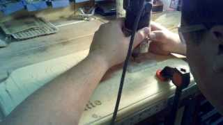 Routing A Hand Cut Wood Sign