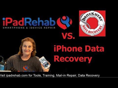 iPad Rehab beats Drivesavers: LIVE iPhone 7 Data Recovery