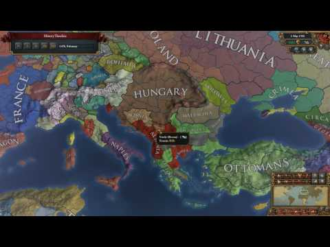 EU4 Timelapse - Opening Move - Albania or Iberia (1.19)