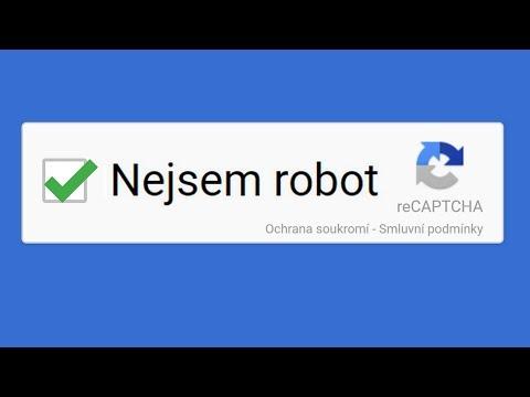 Jak Google pozná, že nejsem robot?