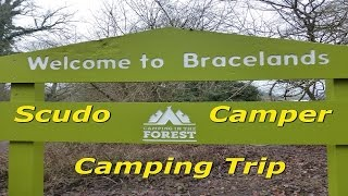 Camping & Caravan Club | Bracelands Campsite - Forest of Dean - January 2017