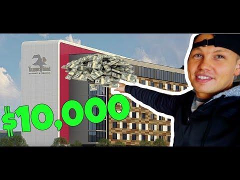 FOUND $10,000 IN OUR HOTEL ROOM | Treasure Island Casino