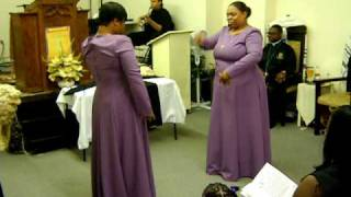 Grateful Praise dancing to Because of who you are by Vicki Yohe