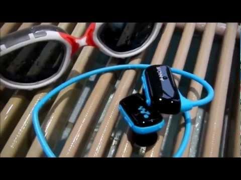"""""""SONY NWZ W273"""" -Test des wasserdichten MP3 Players für schwimmen, laufen, Fitness"""