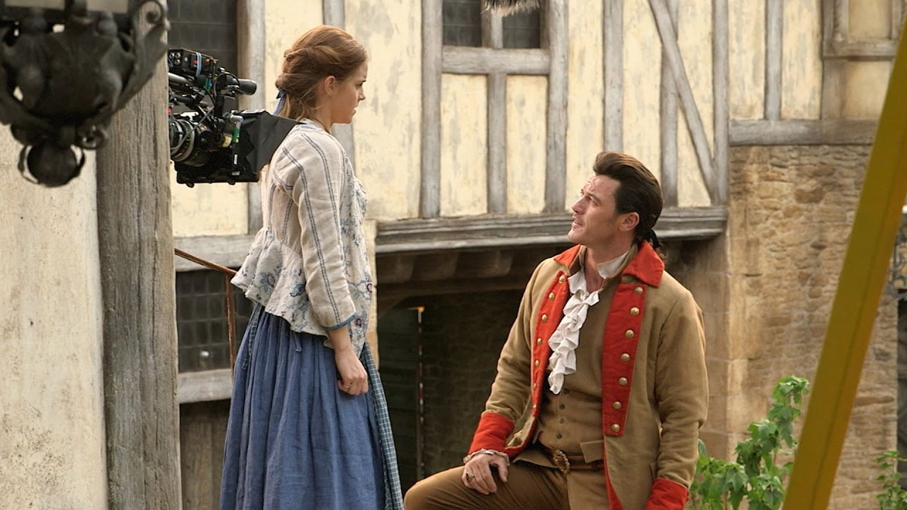Beauty And The Beast Behind The Scenes Youtube