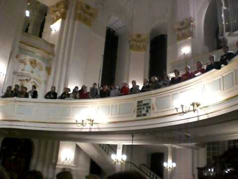 "Rehearsal of ""Bach (again)"" in St. Michaelis church / Hamburg 03.02.2012"