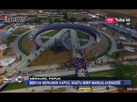 KEREN! Beginilah Bentuk Kapsul Waktu 'Markas Avengers' Yang Diresmikan Jokowi - INews Malam 16/11